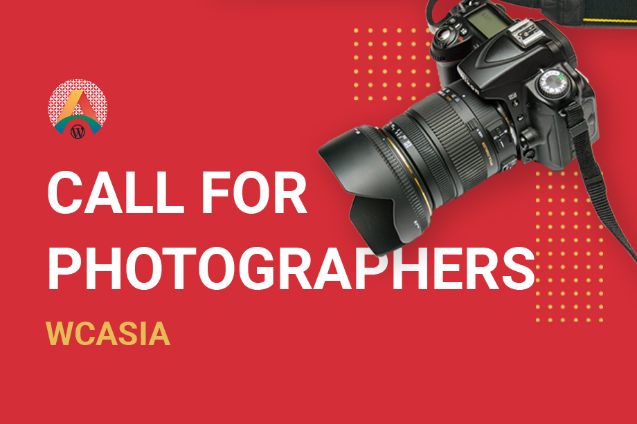 Call for Photographers at WordCamp Asia 2020