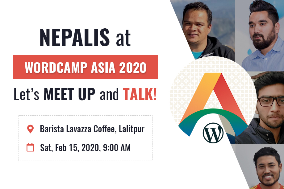 Nepalis at WordCamp Asia 2020 | Let's Meet and Chat!