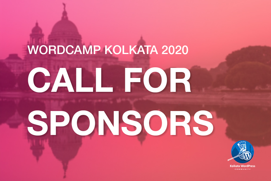 WordCamp Kolkata 2020 Call for Sponsors