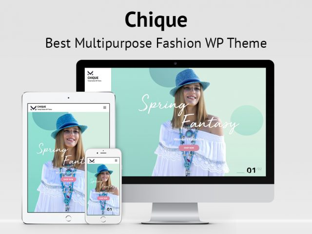 Chique – Best Multipurpose Fashion WordPress Theme for 2020