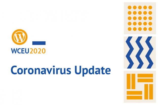 WordCamp Europe 2020 Updates Concerning Coronavirus COVID-19