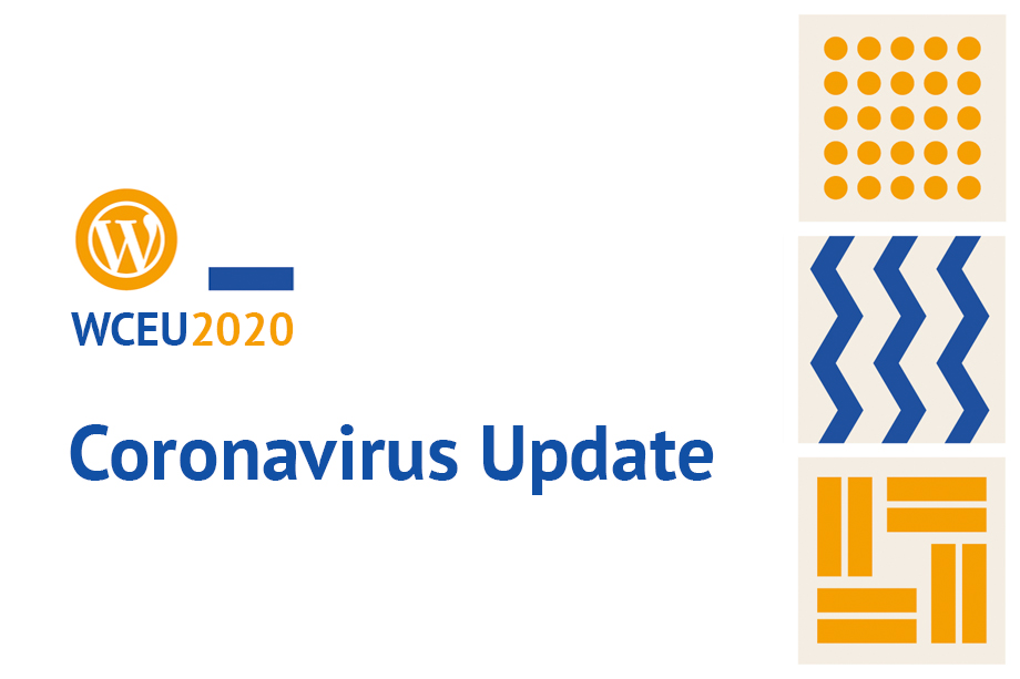 WordCamp Europe 2020 Corona Virus Update
