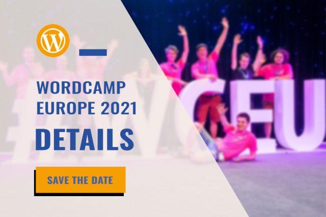 WordCamp Europe 2021 Details