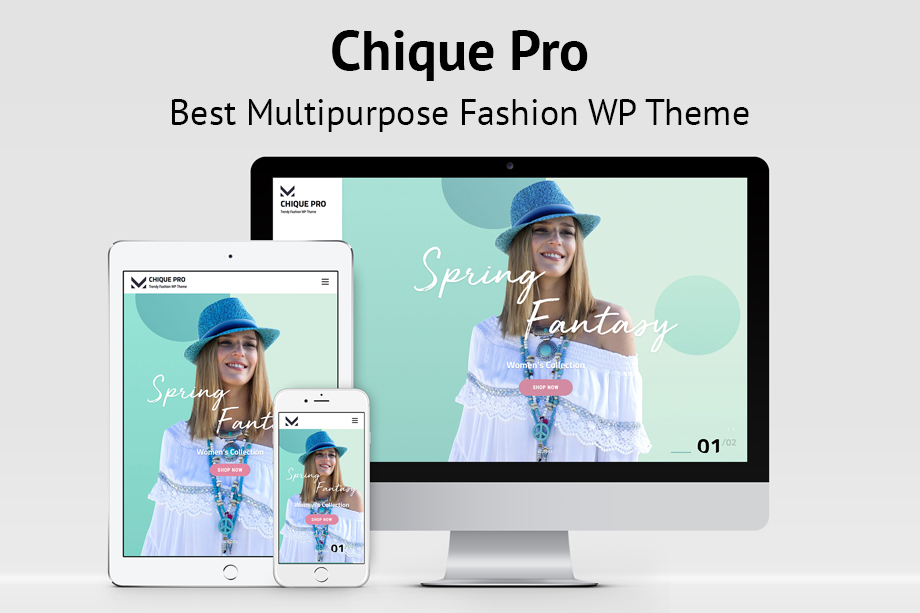 Chique Pro - Multipurpose Fashion WordPress Theme