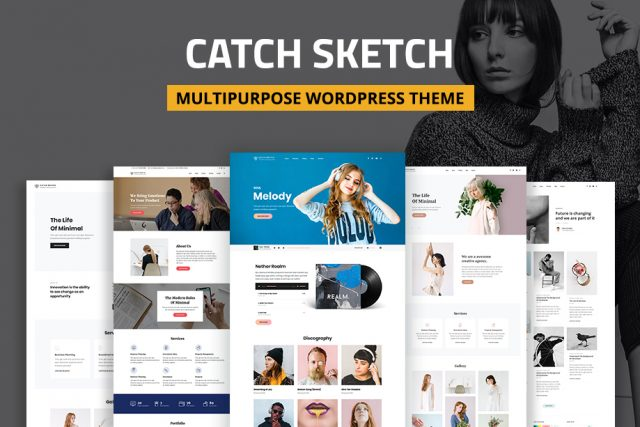 Catch Sketch – Best Business Multipurpose WordPress Theme for 2020