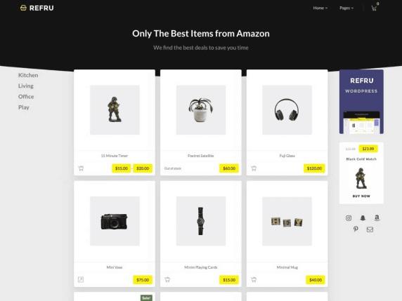 Refru - Best Free WordPress Themes - March 2020