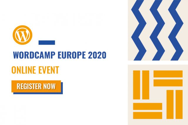 WordCamp Europe 2020 Online Event Registrations Now Open!