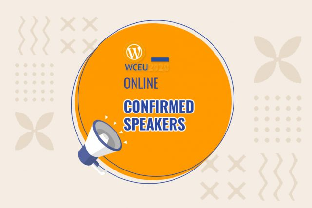 WordCamp Europe 2020 Online: Confirmed Speakers List