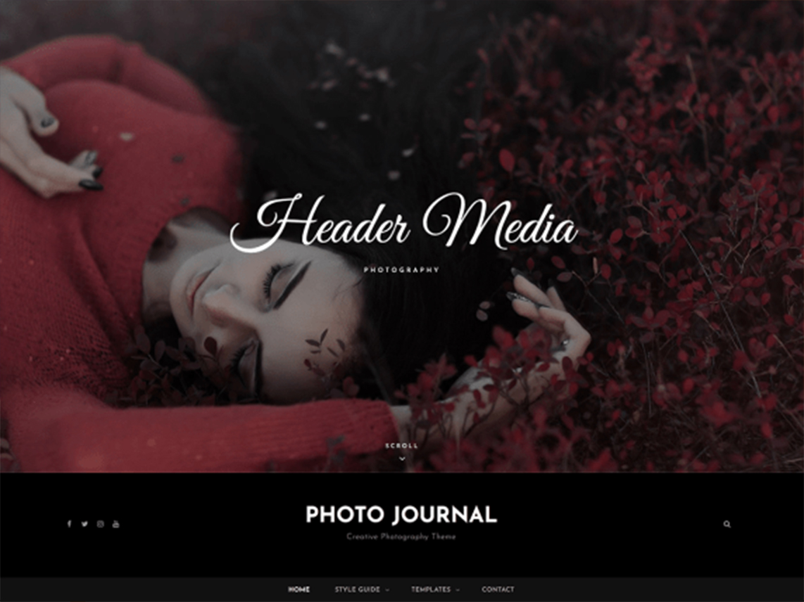 Photo Journal - 10 Best Free WordPress Themes of April 2020