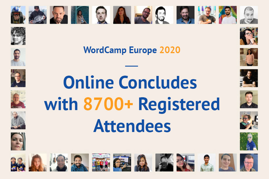 WordCamp Europe 2020 Online Concluded with 8700+ Registered Attendees