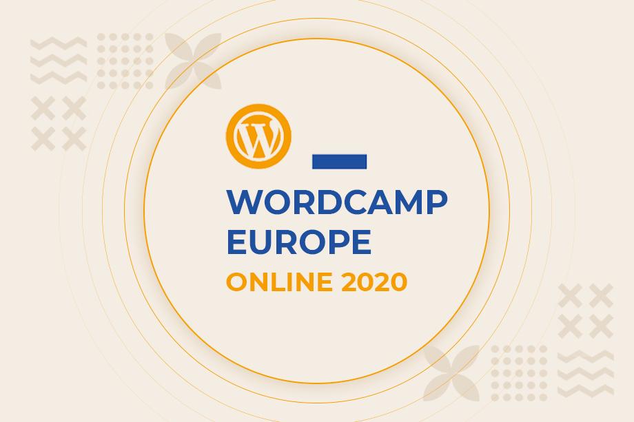 WordCamp Europe 2020 Online is happening tomorrow