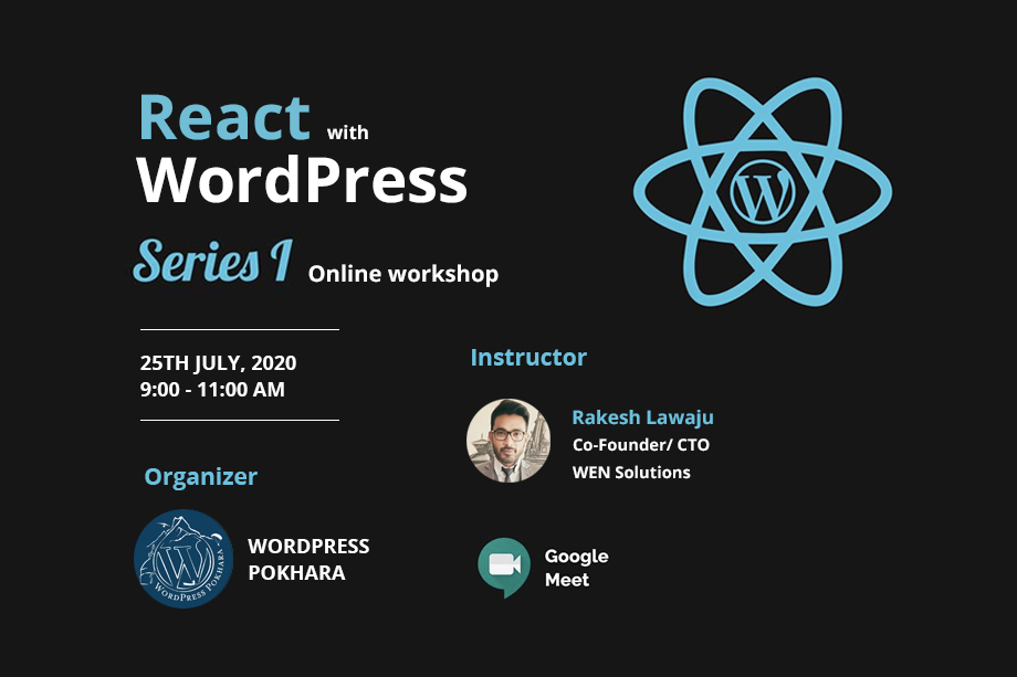 React with WordPress Series - Series 1
