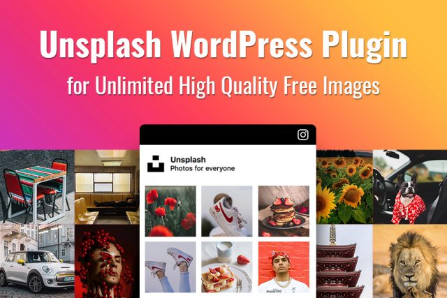 Unsplash WordPress Plugin for High-Quality Free Images