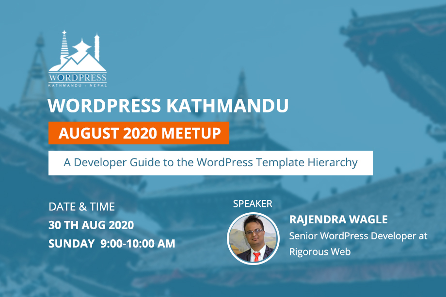 WordPress Kathmandu August Online Meetup 2020