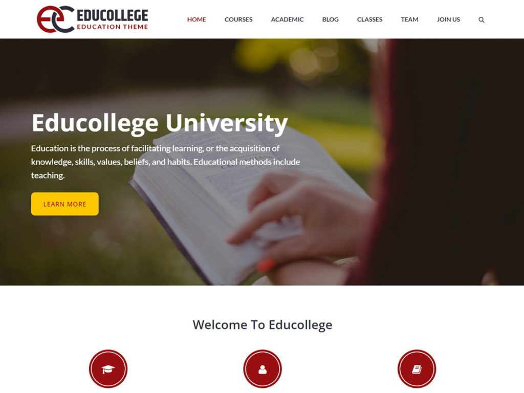 10 Best free Themes of July 2020 - Educollege