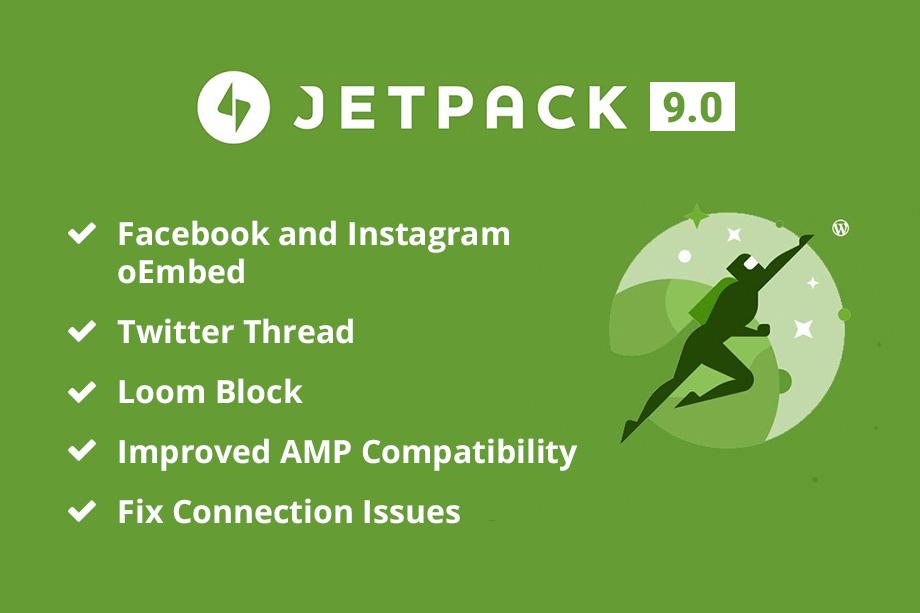 Jetpack 9.0 Update