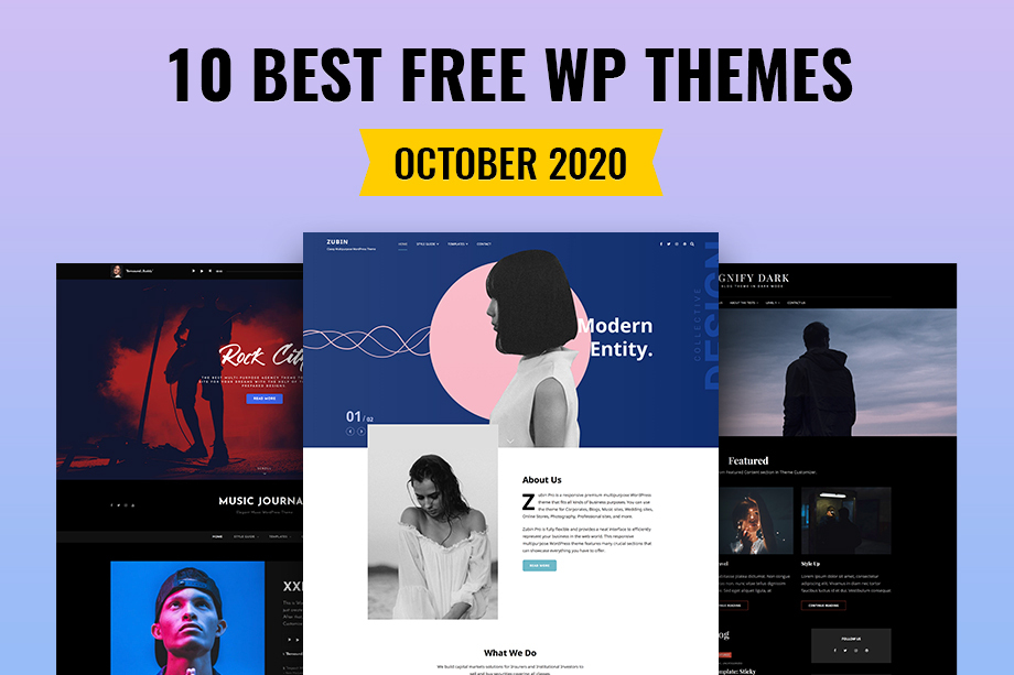 10 Best Free WordPress Themes of October 2020