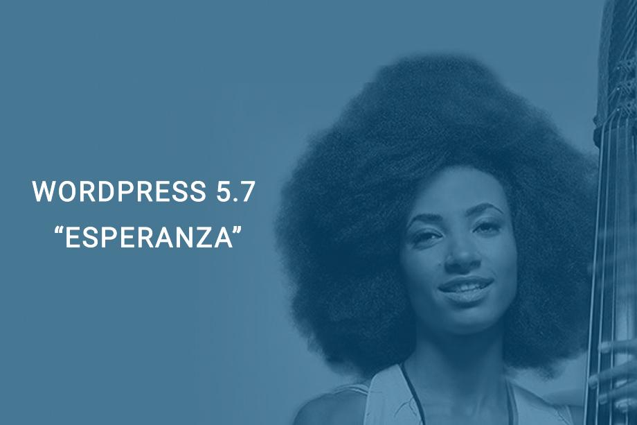 WordPress 5.7 Esperanza Featured Image