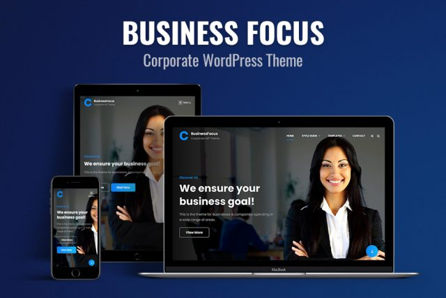 Theme Review: BusinessFocus – A Free Responsive Business WordPress Theme