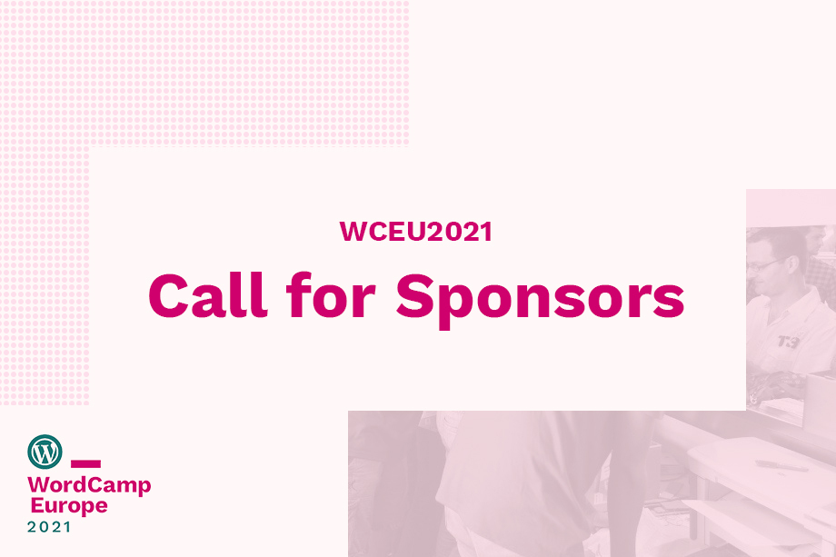 WordCamp Europe 2021 Sponsors featured
