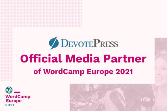 DevotePress – The Official Media Partner for WordCamp Europe 2021
