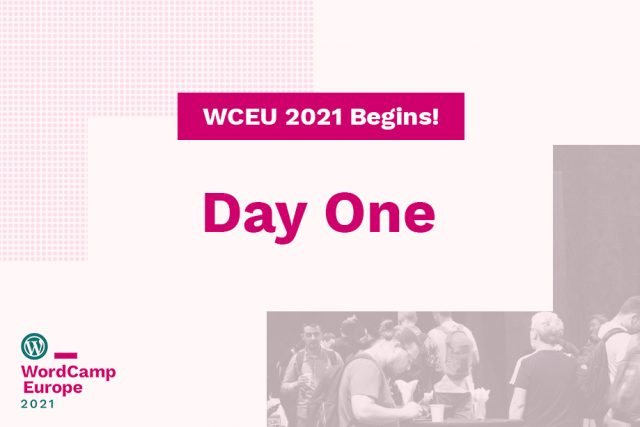 WordCamp Europe 2021 Online is happening today!