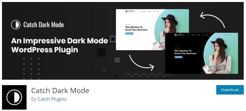 Catch Dark Mode plugin