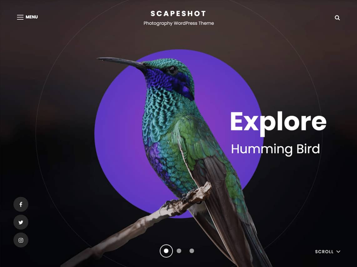 ScapeShot - 10 Best Free WordPress Themes of August 2021