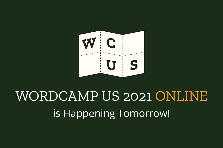 WordCamp US 2021 Online Happening Tomorrow
