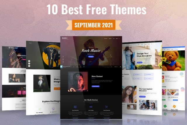 10 Best Free WordPress Themes of September 2021